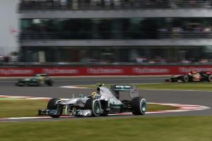 Lewis Hamilton startet morgen von der Pole Position. Foto: Mercedes