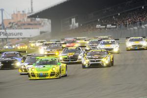Bester Porsche fährt im Regenchaos auf Position sieben. Foto: Porsche