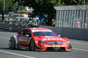 Dreifachsieg für Mercedes bei der DTM auf dem Norisring. Foto: Rolf Schindler