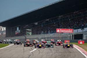 Die Formel 1 auf dem Nürburgring. Foto: Nürburgring Betriebsgesellschaft mbH