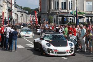 Nick Tandy als bester Porsche-Pilot auf Startplatz fünf. Foto: Audi