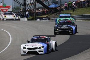 BMW Team RLL kommt in Mosport auf die Plätze fünf und sechs. Foto: BMW Team RLL