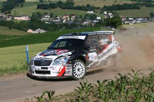 Sieger der Rallye Luxemburg, Mark Wallenwein. Foto: DRM