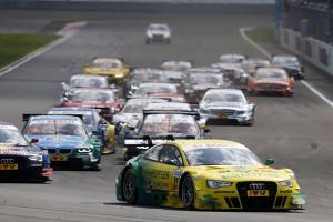 Audi-Pilot Rockenfeller als Tabellenführer zum Nürburgring. Foto: Audi