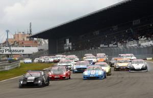 Heiße Startphase am Nürburgring