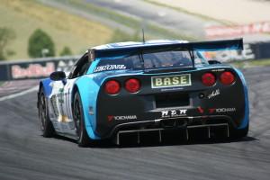 Mit der RWT-Corvette will man in die Punkteränge fahren. (Foto: Schindler) Copyright
