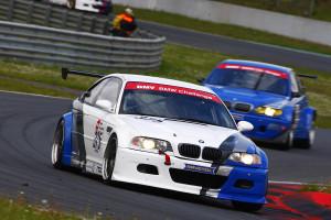 Die DMV BMW lieferten sich spannende Positionskämpfe.