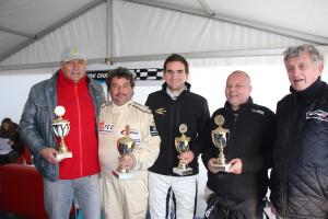 In Zandvoort wurden die Pokale an die Sieger verteilt. (Foto: Holzer)