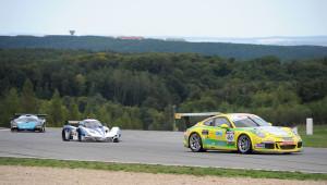 P9 Challenge Meister Stefan Oschmann beim Finale Foto: autosport.at